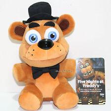 "8"" Funko BROWN FREDDY FAZBEAR Five Nights At Freddy's Collectible Plush Toy Doll"