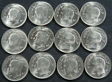 Vintage Gem Bright Uncirculated 12 Middle East World Foreign Coins