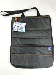Makers Unite Unisex Commuter Travel Tote Bag Unique Artisan UK Black Padded PFD