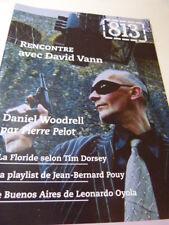 Revue 813 N°111 rencontre avec david vann (cp20)