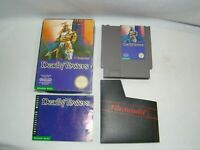 Nintendo NES Deadly Towers game cartridge w/ box & manual, tested, working