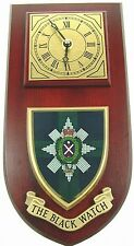 THE BLACK WATCH CLASSIC HAND MADE TO ORDER WALL CLOCK