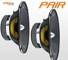 "PAIR PRV Audio 69MR500-PHP-4 High SPL Midrange Loudspeaker 6x9"" Car Speaker 4ohm"
