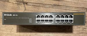 D-Link 16-Port 10/100mbps Unmanaged Rackmount Switch DSS-16+