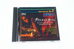 NIGHT TIME CAFE 2 DRUNK WITH LIVE JAZZ JAPAN CD A11106