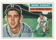 1956 Topps Baseball #17 Gene Conley NM-MT sharp FREE shipping! Look!