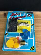 VINTAGE SOLAR ENERGY EDUCATIONAL TOY KIT SCIENCE PROJECT EXPERIMENT SEALED NEW
