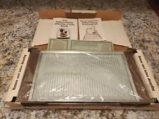 SALTON H-910 Electric Hot Food Warmer Glass Tray Hot Tray NEW IN BOX