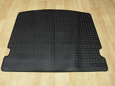 VW Caddy (SWB) Fully Tailored 5mm Rubber REAR MAT in Black. 1 Sliding Door Type