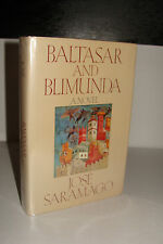 Baltasar and Blimunda by José Saramago 1st/1st 1987 HBj Hardcover