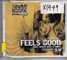 (CM38) Naughty By Nature, Feels Good ft 3LW - 2002 DJ CD