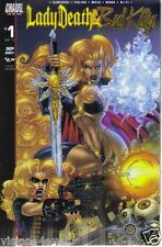 SEPT 2001* CHAOS COMICS* LADY DEATH & BAD KITTY COMIC* #1*