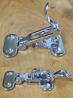 Toggle catch, Lockable, solid brass, chromed finish     107B00C