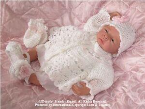 CROCHET PATTERN: Baby/reborn: Babette CRO103 by Frandor Formats