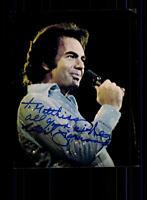 Neil Diamond Autogrammkarte Original Signiert ## BC 68629
