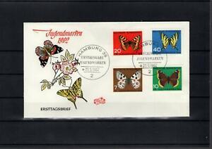 BRD  Bund   Ersttagsbrief  FDC  Jugendmarken  1962       Lot2467