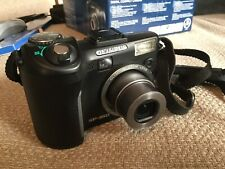 Olympus SP Series SP-350 8.0MP Digital Camera - Black With Box And Accessories