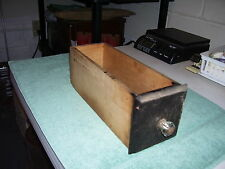 ANTIQUE ELDRIDGE TREADLE SEWING MACHINE DRAWER 1879