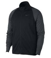 Nike Men's Black Gray Training Jacket Dri Fit Epic Full Zip 928026 010 Upick sz