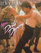 Love Man - Otis Redding Soundtrack from More Dirty Dancing - 1980's Sheet Music
