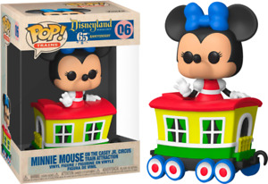 Disneyland 65th Anniversary - Minnie Train Carriage US Exclusive Pop! Vinyl #06