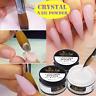 Crystal Acrylic Nail Powder Nail Extension Carving Builder French Nail Art Tips