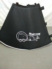 The Comfy Cone Pet Recovery Collar by All Four Paws  Large  Black  NWOT