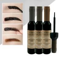 3 Colors Peel-Off Eyebrow Tattoo Tint Brow Gel Waterproof Long-Lasting Makeup UK