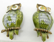 FINN JENSEN BASSE TAILLE STERLING SILVER OWL PINS BROOCHES NORWAY