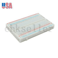 88*55 Electronic Circuit Assembly Solderless Breadboard Bread Board 400 Contacts