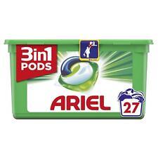 Ariel 3 in 1 Lavadoras Auriculares Original Colada Detegent Líquido Cápsulas -