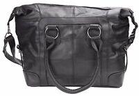 New Large Soft Leather Shopper Style Handbag Shoulder Bag detachable Strap 1928
