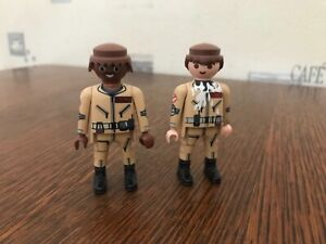 Lot playmobil personnages sos fantomes ghostbusters