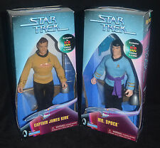 "STAR TREK ""Amok Time"" KIRK & SPOCK KB Toys Exclusive 9"" Figures Playmates 1999"