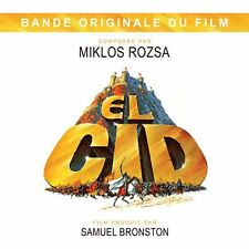 CD El Cid - Miklos Rozsa / OST / Movie Soundtrack / IMPORT