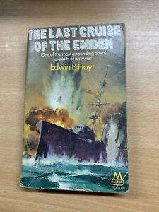 "1969 ""THE LAST CRUISE OF THE EMDEN"" EDWIN P HOYT WW2 PAPERBACK BOOK (P2)"