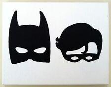 Batman Y Robin máscaras de vinilo autoadhesivo con Coche Furgoneta portátil