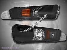 2005 2006 2007 FORD MUSTANG 2-DOOR CORNER SIGNAL BUMPER LIGHTS BLACK