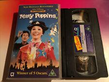 **MARY POPPINS** - DISNEY CLASSIC - VHS PAL (UK) VIDEO - ORIGINAL FILM