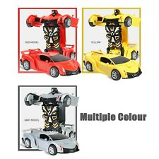 1:32 The Collision Car Children Deformation Car Robot Toy For Kids Baby Brain US