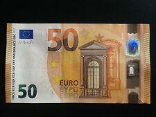 N4 Europe Netherlands 50 Euro 2017, PB-serie UNC, Draghi Sign, Printer P004