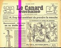 Le CANARD ENCHAINE numero 2154 du 31 janvier 1962