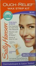 Sally Hansen Ouch-Relief Wax Strip Kit For Face & Bikini Expiration 01/2020