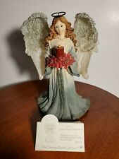 Boyds Charming Angels Collection Gretta Guardian Angel of Holiday Wishes 1E