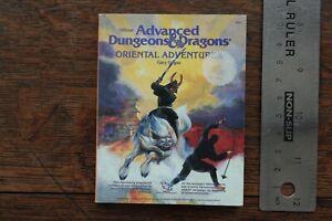 Oriental Adventures 21st Century Mini Reprint AD&D TSR Silver Anniversary 1999