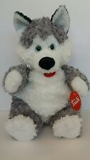 TRUDI SOFT TOY-HUSKY