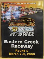 V8 Supercars Eastern Creek Official Race Program 2008 Excellent Condition
