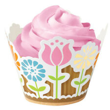 Wilton Cupcake Cupcake Decorativo Envolvente Alegra Liso Fundas Fiesta En Jardín