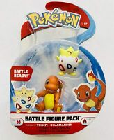 POKEMON BATTLE FIGURE * TOGEPI & CHARMANDER * NEW BOXED TOY CHARACTER PACK