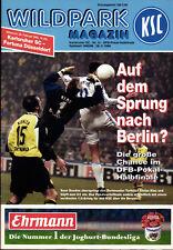 DFB-Pokal Semi Final 95/96 Karlsruher SC - Fortuna Düsseldorf, 28.02.1996